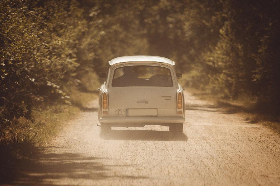 Fahrten mit dem Auto durch die Grafschaft