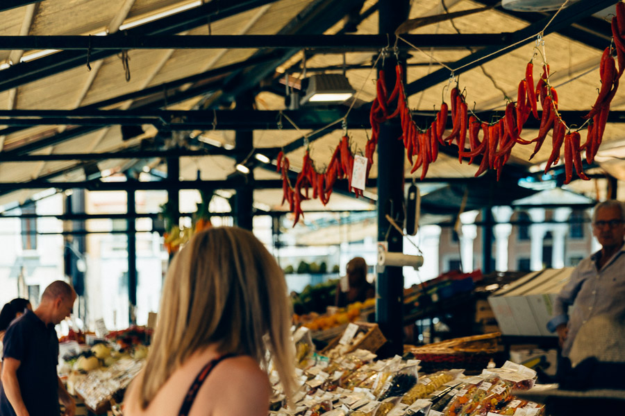 Wochenmarkt in Enschede